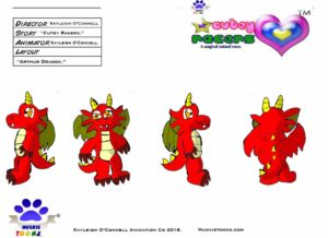 Arthur Dragon Character Sheet Colored.